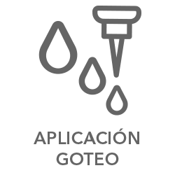 Aplicación por Goteo - ico