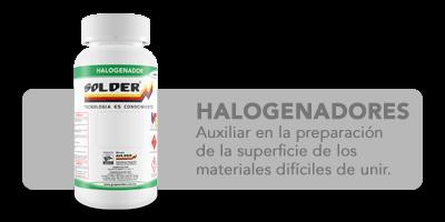 Halogenadores Solder
